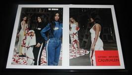 Kardashian & Jenner Calvin Klein 2018 Framed ORIGINAL 12x18 Advertising ... - $65.09