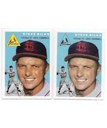 1954 Topps Archives Steve Bilko St. Louis Cardinals #116 Gold & Regular ... - $1.28