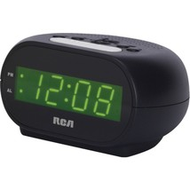 "RCA RCD20 Alarm Clock with .7"" Green Display - $25.57"