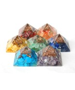 REIKI ENERGY CHARGED COMPLETE ORGONE PYRAMID CR... - $37.11