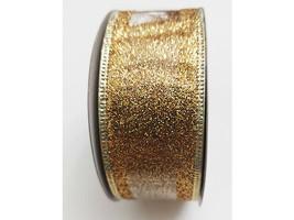 "Michael's Celebrate It Wired Metallic Gold Ribbon, 1.5"" X 25 Feet"