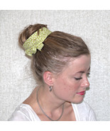 Green Wired Headband, Celery Green Headband, Classic Retro Wired Headban... - $10.00