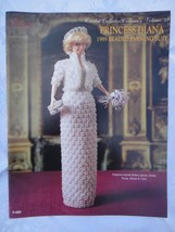 "Paradise Crochet 11 1/2"" Doll Pattern PRINCESS DIANA 1989 BEADED EVENING... - $10.84"