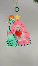Katherine's Collection Aqua Cat Pink Picture Frame Christmas tree Ornament - $29.99