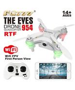 WHITE EYE FQ777 954 FIRST WiFi NANO Drone FPV Camera RTF Quadcopter phot... - $19.99
