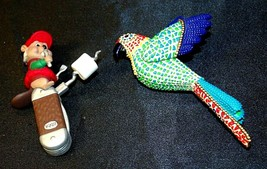 Hallmark Keepsake Ornaments Christmas Parrot & Clever Camper AA-191792D Collecti image 2