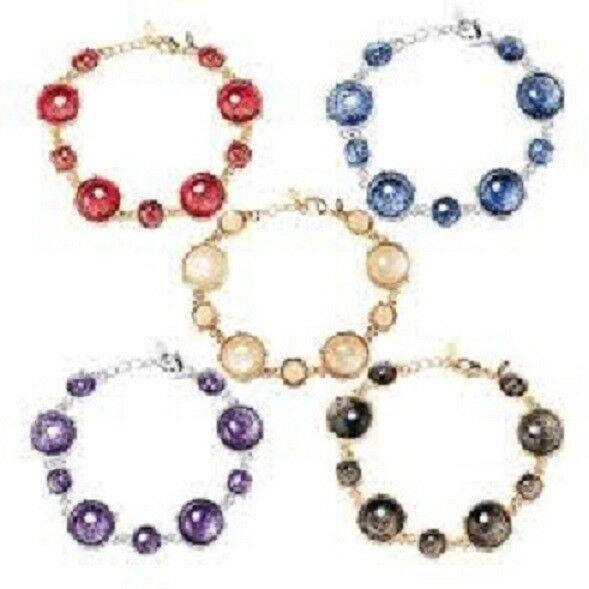 Avon Shimmering Bubble Bracelet in Purple