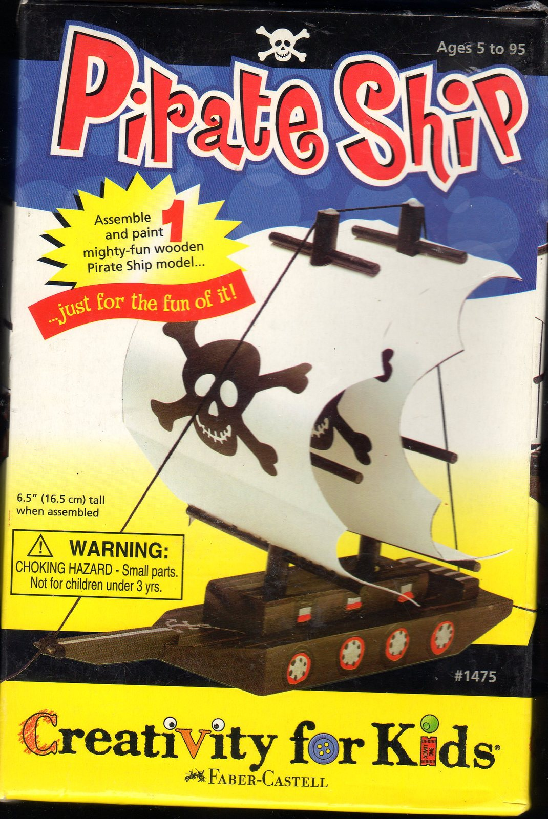 Primary image for Make Your Own Pirate Ship - Craft Kits by Creativity For Kids