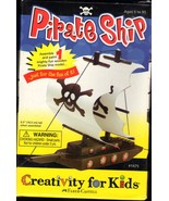 Make Your Own Pirate Ship - Craft Kits by Creativity For Kids  - $7.00