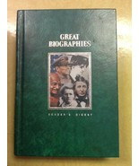 Reader's Digest Great Biographies Gandhi, Keller, MacArthur, Thoreau, Curie - $2.97