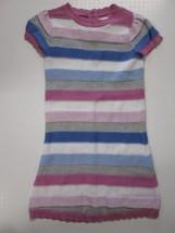 Gymboree short sleeve stripe knit sweater dress SIZE 2T - $7.87