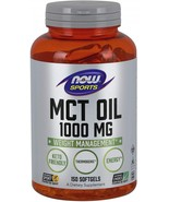 Now Sports Nutrition, MCT (Medium-Chain triglycerides) Oil 1000 mg, Weight - $45.48