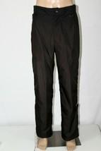 FERA Skiwear Men's Size 36 Black Full Zip Leg Lined Snow Ski Snowboardin... - $28.05