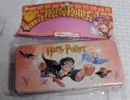 Harry Potter Pencil Case with Removable Tray by Schylling 2000 New metal - $16.86