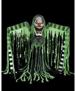 Halloween prop animatronic UNDERWORLD CLOWN ELECTRIC ANIMATED HALLOWEEN ... - $791.99