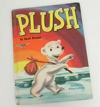 Plüsch Von Sarah Derman 1952 Kinder Bild Buch Polar Bear Illus Wm. Gschwind - $13.99