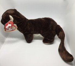 TY Beanie Babies Runner the Ferret Stuffed Animal Plush Toy (Runner)