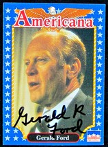 Gerald Ford Autographed Card - $69.95