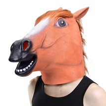 Halloween Head Mask - Horse Head Mask for Halloween Costume Party Decora... - £17.24 GBP