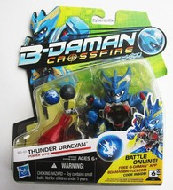 B-Daman Crossfire THUNDER DRACYAN 2013 Action Figure Blaster New HASBRO USA - $27.62