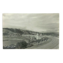 Vintage RPPC Real Photo Postcard Rogue River Bridge Kodak Oregon Kodak Haws - $9.46