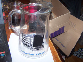 Vintage Granite City Steel Granite City IL 90 Day Safety Award Glass Pit... - $44.41