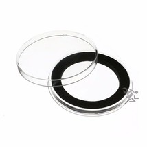 Air-Tite Brand Y49mm Black Ring Coin Capsule Holders Qty: 5 - $14.95