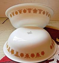 "Corelle BUTTERFLY GOLD Pattern 1970 Soup 6.25"" Bowl - Lot of 2 - $6.00"