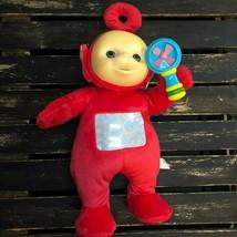 Teletubbies Po Plush Stuffed Animal Dance Sing Light Up Move Rattle Kid ... - $20.48