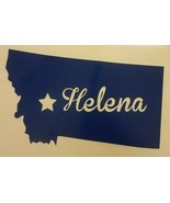 Helena Montana Vinyl Decal Sticker New - $3.60