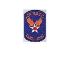 Canal Zone ROTC US Air Force USAF Air Reserve Officer Training Corps ROT... - $9.99