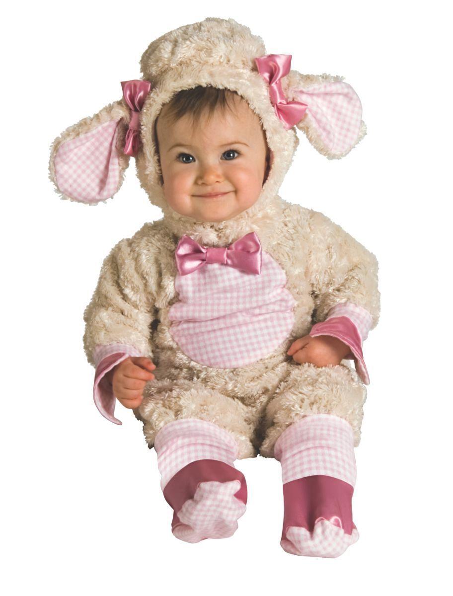 Rubies Lucky Lil' Lamb Animal Adorable Infant Baby Halloween Costume 885354