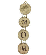 MOM Wall Hanging Wood Plaque Jerusalem  Mothers' day Gift Día de Las Madres - $14.88