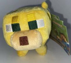1 Nwt 2014 Minecraft Overworld Baby Ocelot Plush Toy Mojang Yellow Series #1 - $28.04