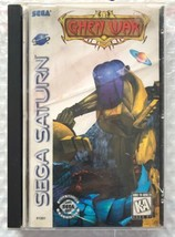☆ Ghen War (Sega Saturn 1995) AUTHENTIC Complete in Case Game Tested Wor... - $14.50