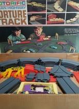 1966 Ideal Motorific Alcan Highway Torture Track Slot Car Race Set Near Complete - $88.98