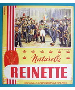 REINETTE Natural Biscuits & Napoleon - c 1960 Ink Blotter Advertisement - $4.49