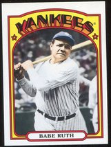 2013 Topps Archives #1 Babe Ruth - $5.00