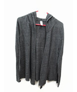 Coca-Cola  Soft Light Eco-Jersey Wrap Jacket Charcoal Gray Large- BRAND NEW - $41.09