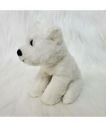"6"" Fiesta White Bear Lil Buddies Polo BB Plush A35155 Stuffed Animal Toy... - $14.97"