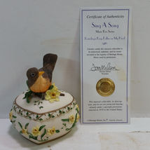 Heritage House Sing A Song Music Box Series Raindrops Keep Fallin on My ... - $17.99