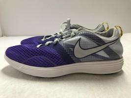 Nike Lunarlon MTRL 522346-005 Women's Running Training Shoes Purple Grey... - $72.17