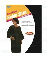 Dream Short Sleeve Salon Shirt Stylist Barber Washable Water Chemical Re... - $19.95