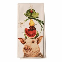 Paperproducts Design Featuring Lulu & Her Lunch Design Kitchen Towel, - $26.73