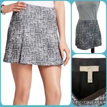 "JOIE Classic Tabby Tweed Mini Skirt Small S Women's 4-6 29""x14.5"" - $39.00"