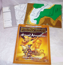 TSR AD&D Forgotten Realms Oriental Adventures Ronin Challenge - $54.44