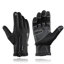 Rockbros Winter Thermal Ski Gloves Skiing Windproof Snowboard Waterproof... - $17.96