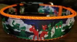 Gumby and Pokey  dog collar LG - $15.00