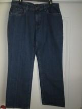 Croft&Barrow Classic 5-Pocket Denim Men's Casual Pants 34Wx30L MSRP $45 - $15.19