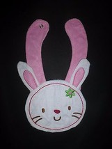 NEW Carter's Easter Bunny White Terry Cloth Teething Unisex Baby Girls Bib - $3.95